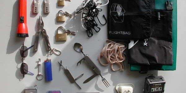 bagage op wereldreis