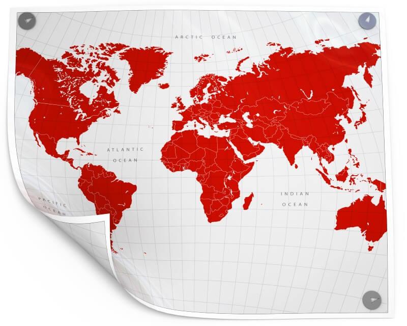 route-plannen wereldreis