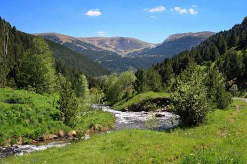 Vallei de Ransol, uitgangspunt voor mooie wandeltochten door Andorra.