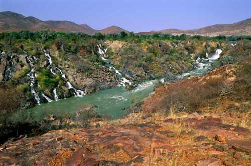 Angola Epupa watervallen