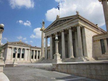 Twee 19e eeuwse Universiteitsgebouwen aan Odós Venizelou, het bezoeken meer dan waard. [Foto: René Hoeflaak]