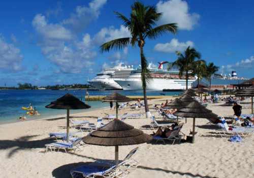 Nassau Town, de hoofdstad van de Bahama's