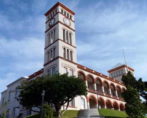 parlements gebouw Bermuda