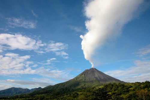 Costa Rica, Arenal vulkaan