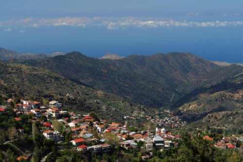 Cyprus, Troodos gebergte