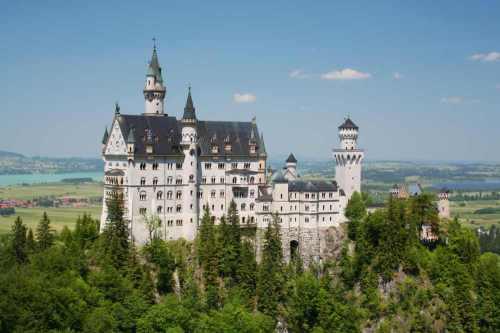 Neuschwanstrein kasteel Duitsland