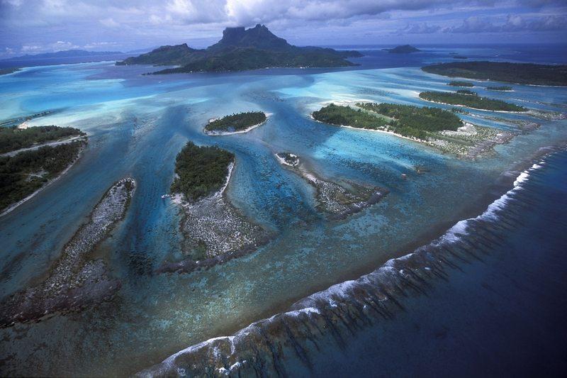 Frans Polynesië Bora Bora rif
