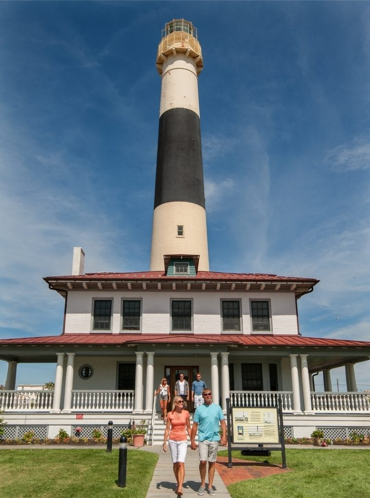 Het Absecon Lighthouse.