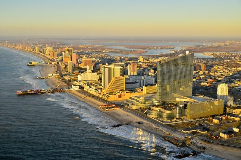 De skyline Atlantic City