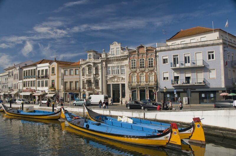 juweeltjes van portugal Portugal Aveiro vissersstad