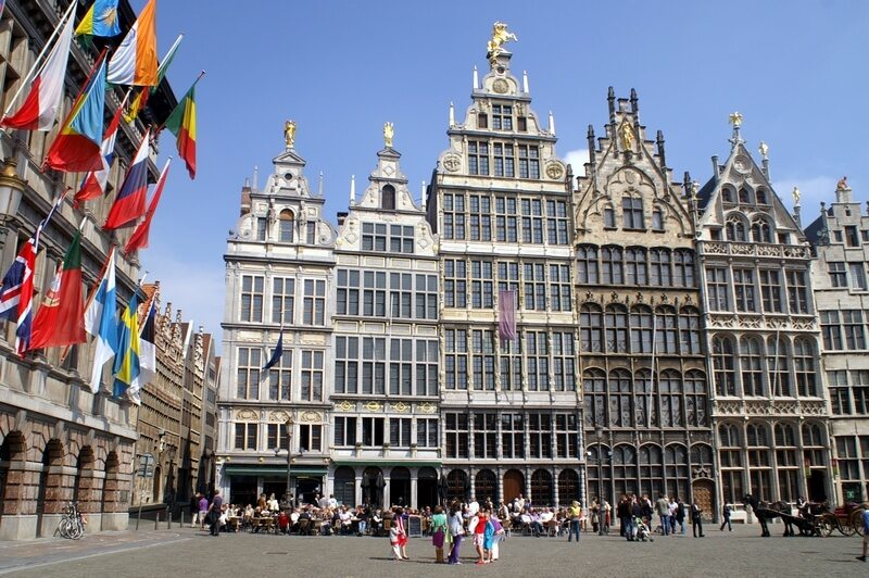 België markt in Antwerpen