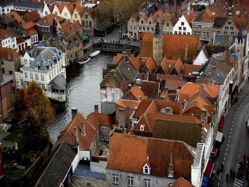 Belgie Brugge centrum