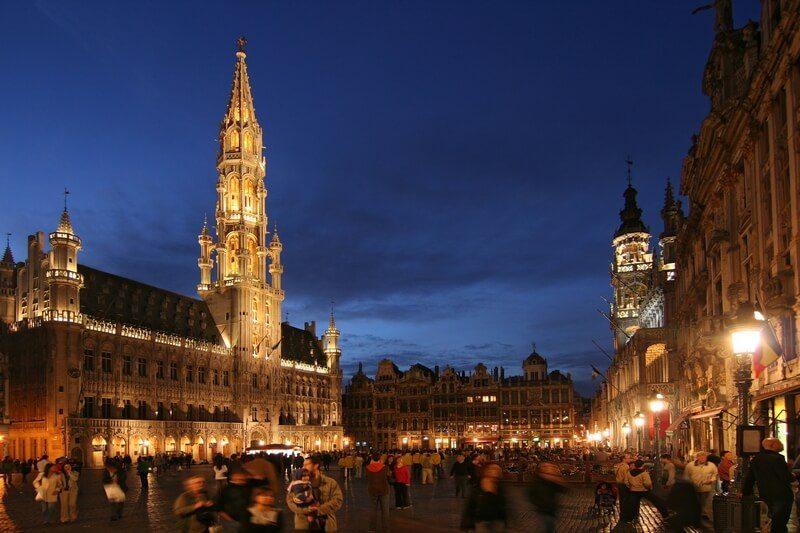 Belgie brussel grote markt