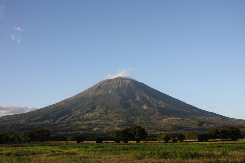 El salvador - Chaparrastique vulkaan
