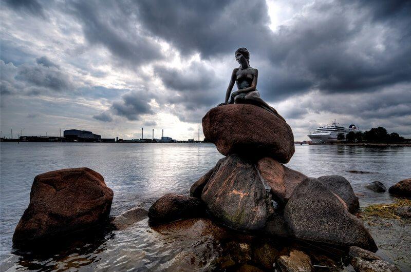 openhagen - KleinDe Meermin in Denemarken.