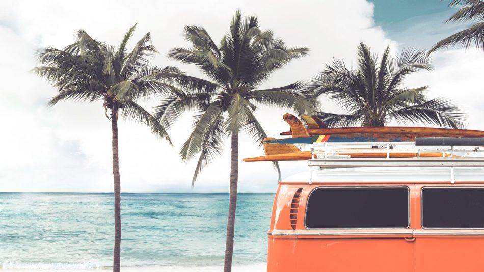 vakantie met een camper