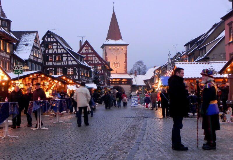 kerstmarkt in Gengenbach
