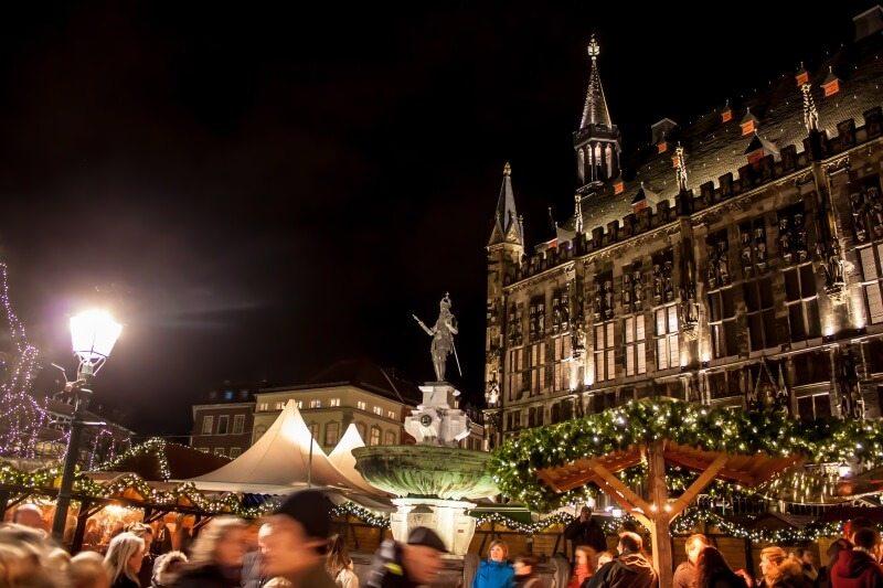 Duitse kerstmarkten 2017 kerstmarkt in Aken