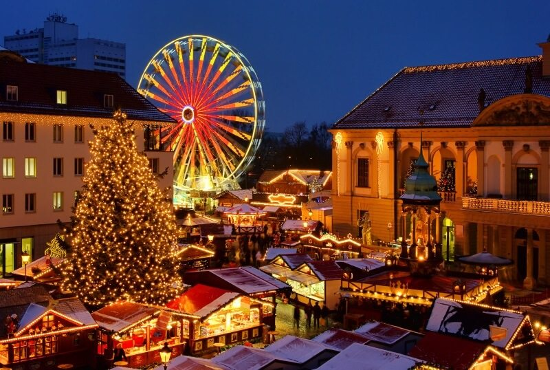 kerstmarkt in maagdenburg