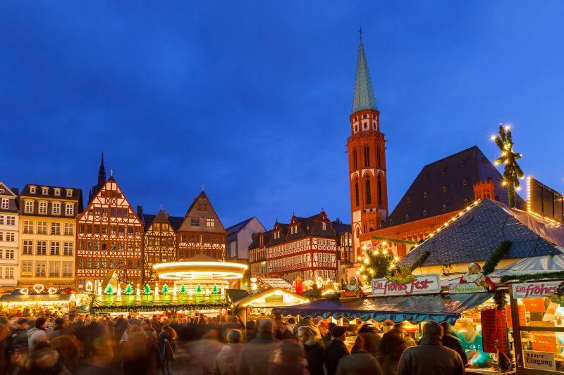 kerstmarkt in Frankfurt