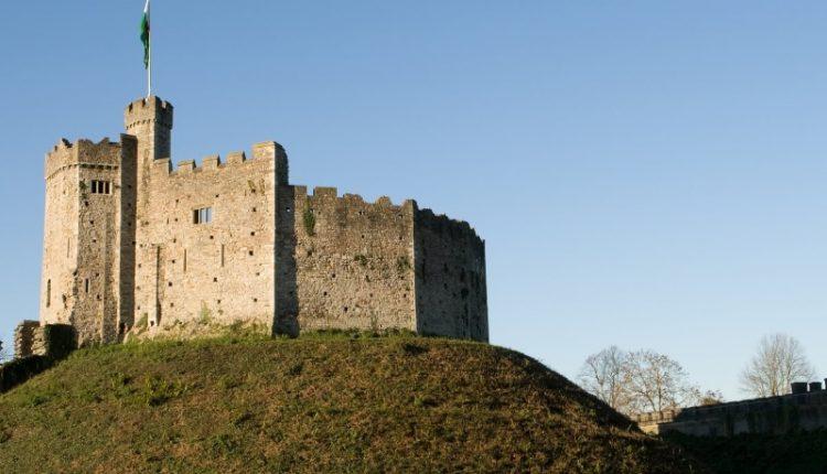 Wales Cardiff kasteel