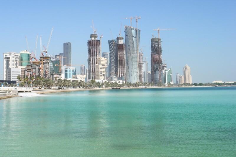 arabische steden Qatar de hoofdstad Doha