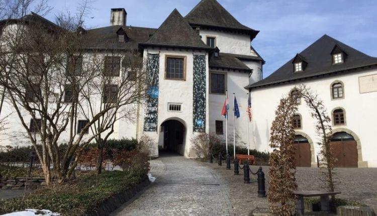 ingang van burght in clervaux