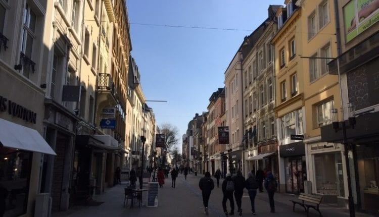 winkelstraten in Luxemburg-stad