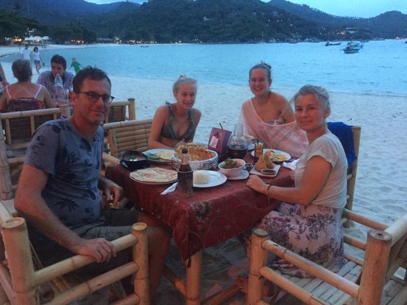 thailand met het gezin
