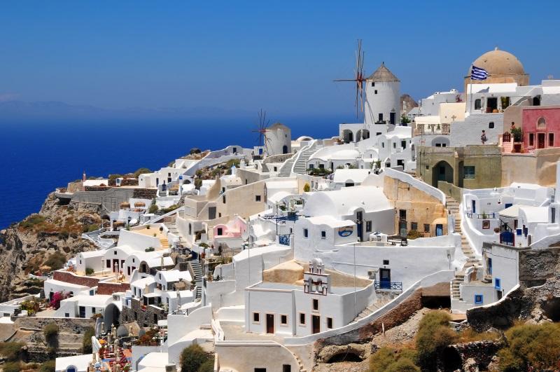 Griekenland Santorini Oia stad