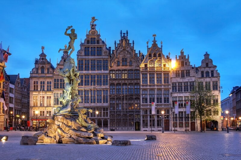 Belgie - Grote Markt Antwerpen