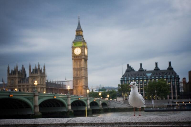 Engeland Big Ben in Londen