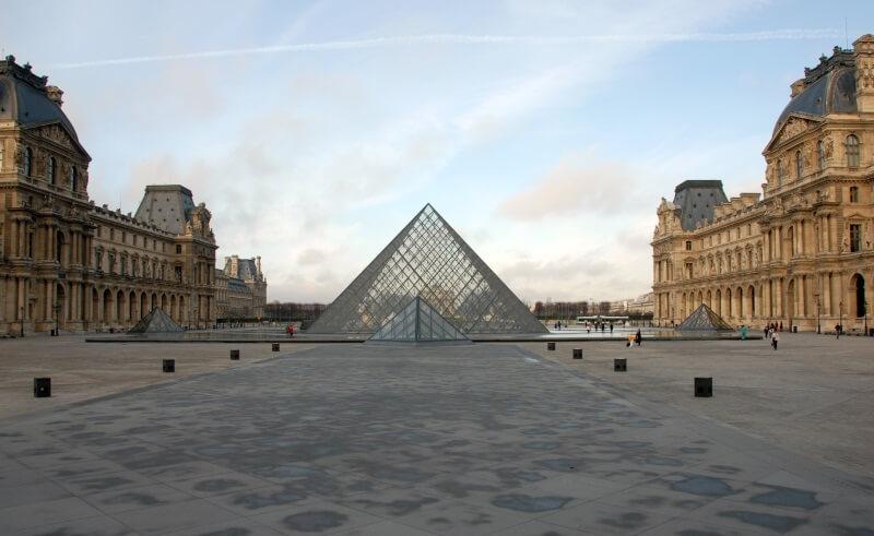 Frankrijk museum het Louvre in Parijs