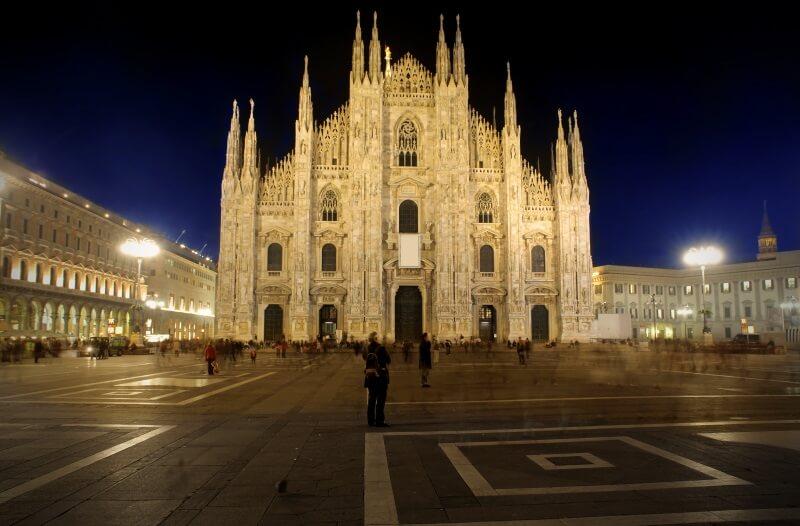 Italië Milaan Duomo