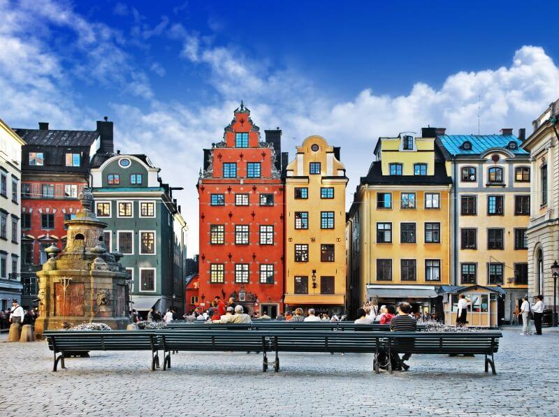 Zweden - Oude stad Stockholm