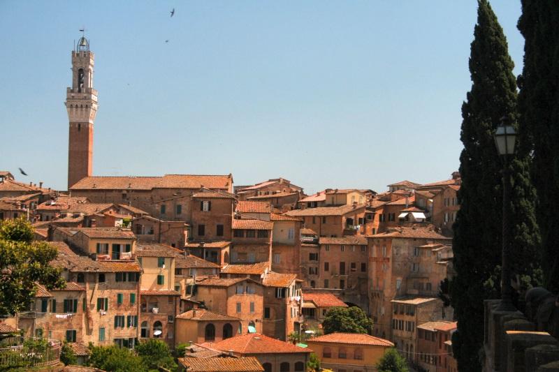 Toscane Siena rode daken