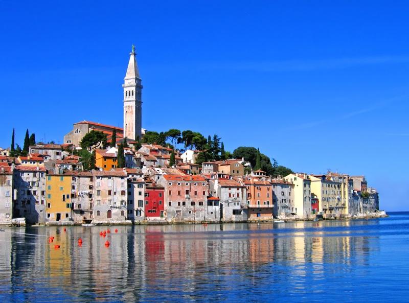 Kroatië Istria plaatsje Rovinj