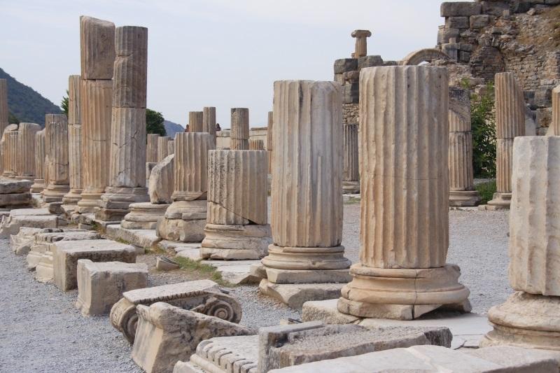 Turkije ruïnes van antieke stad Ephesus