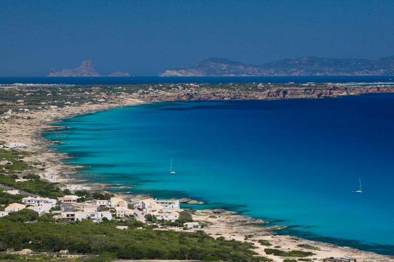 Spanje Formentera mooiste kusten van Europa
