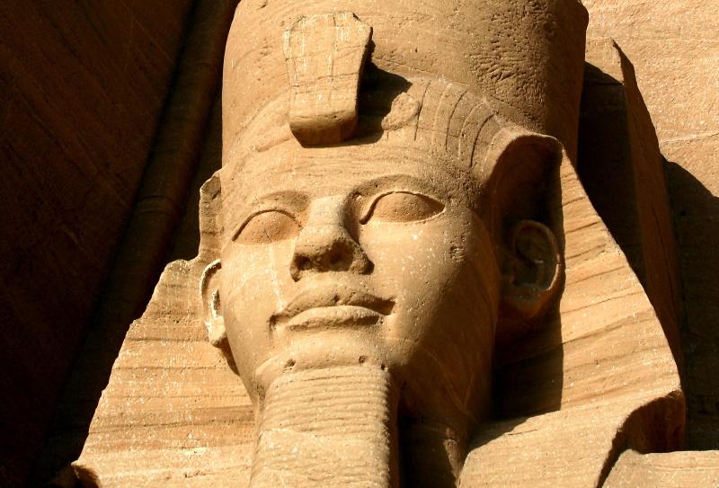 Egypte tempel van Ramses II bij Abu Simbel