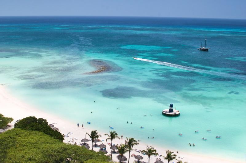 Aruba prachtige stranden palm beach