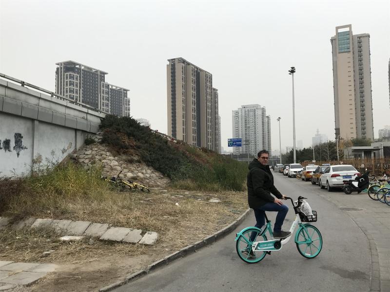 fietsje huren in Beijing met WeChat
