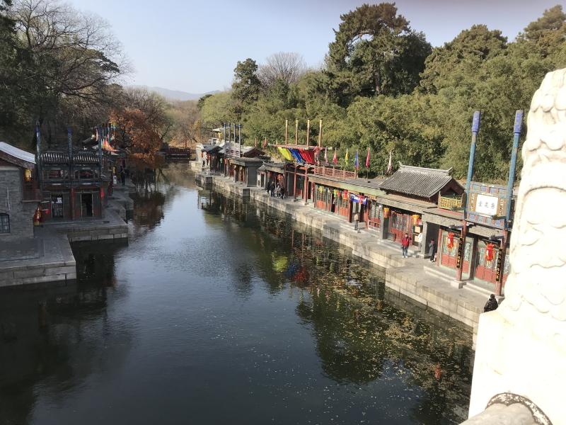 zomerpaleis Beijing, ingang
