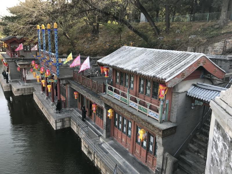 zomerpaleis Beijing, ingang paleis