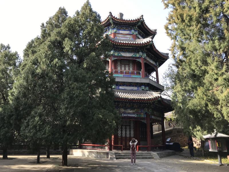 zomerpaleis Beijing, hoge tempel