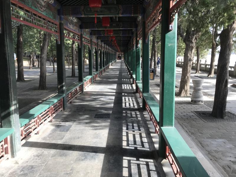 zomerpaleis Beijing, lange gang