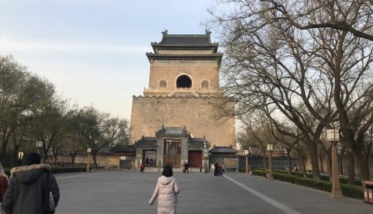 bell tower in Beijing