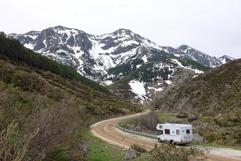 op vakantie met een camper