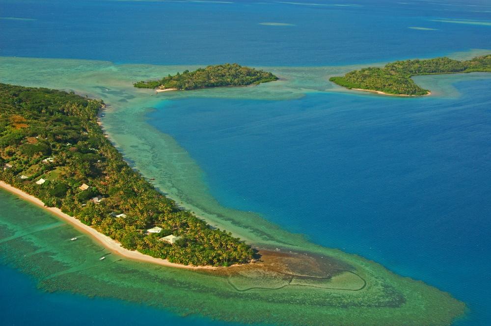 Fiji eilanden chedi island