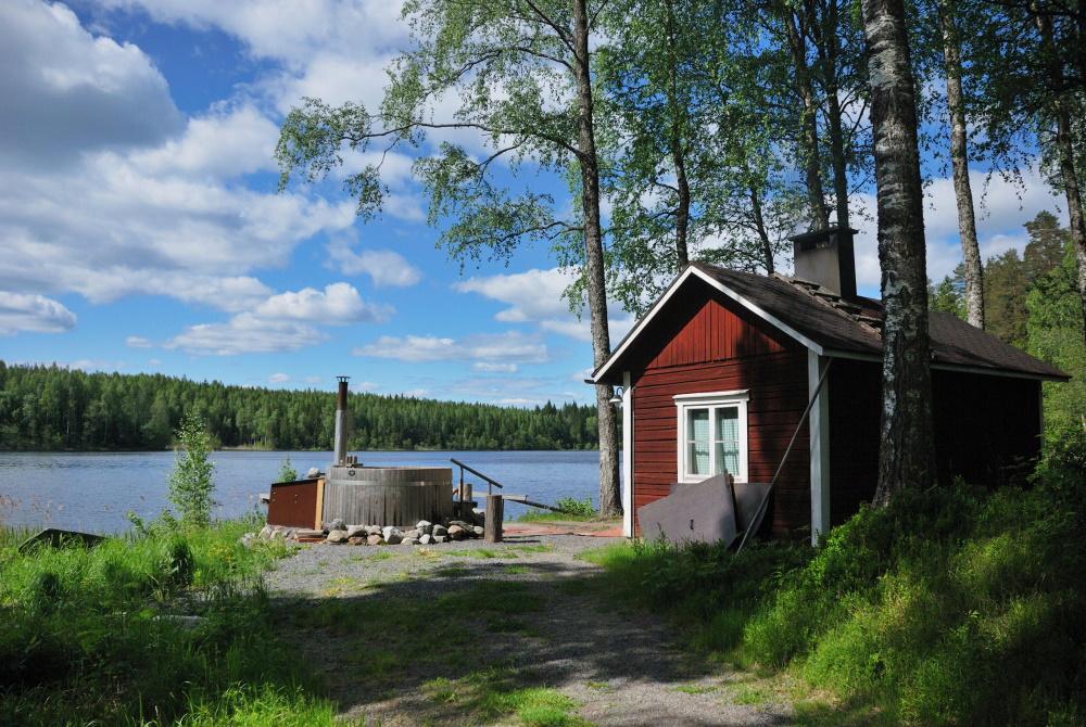 Finland sauna huis